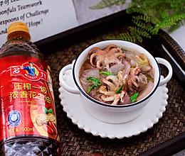 #多力金牌大厨带回家-上海站#水萝卜粉丝炖桃花蛸的做法