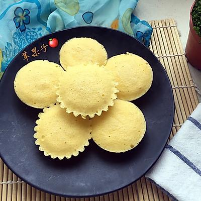 玉米面蒸蛋糕