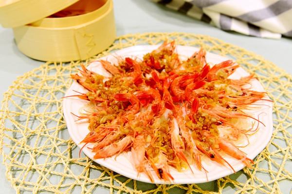 粤菜-蒜蓉粉丝蒸开边虾