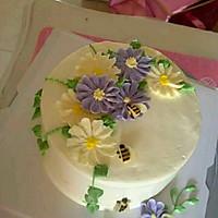 奶油霜韩式裱花的做法图解4