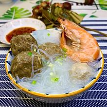 冷天懒人快手菜|潮汕牛肉丸粉丝汤