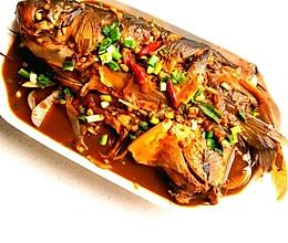 下饭菜~酱炖鲢鱼的做法