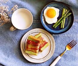 三分钟早餐之培根卷吐司#夏日消暑,非它莫属#的做法