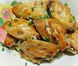 香煎盐焗鸡翅的做法