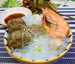 冷天懒人快手菜|潮汕牛肉丸粉丝汤的做法
