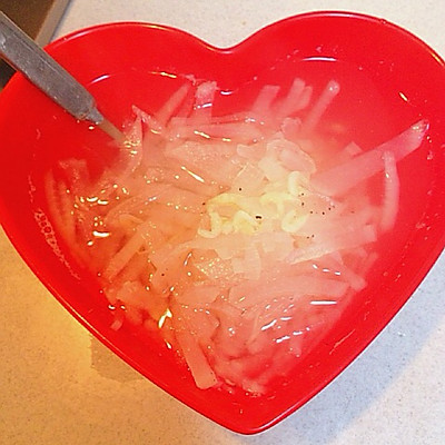 减肥系列---白萝卜汤
