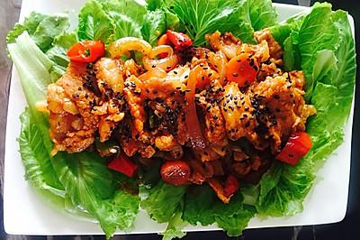 平底锅版韩式烤肉
