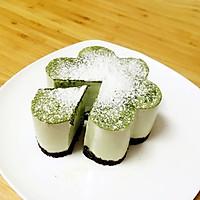 抹茶豆腐芝士蛋糕的做法图解15