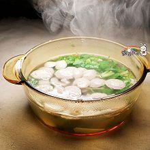 香菜丸子汤