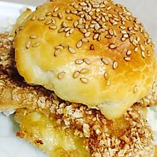 自制鸡肉汉堡