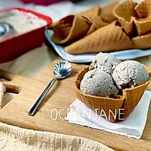 【夏日】脆皮黑芝麻雪糕 冰激凌 冰淇淋