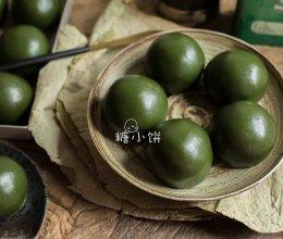 【青团(艾草版)】猪油红豆馅入的做法