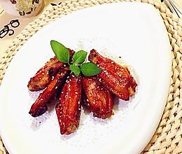 叉烧酱烤翅的做法