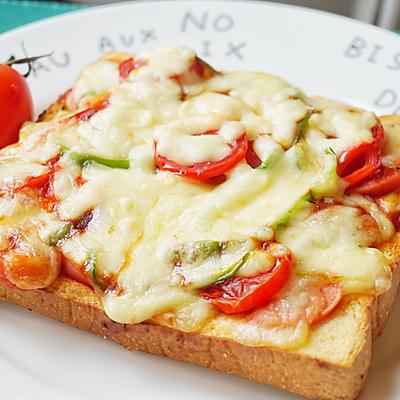 快手吐司披萨