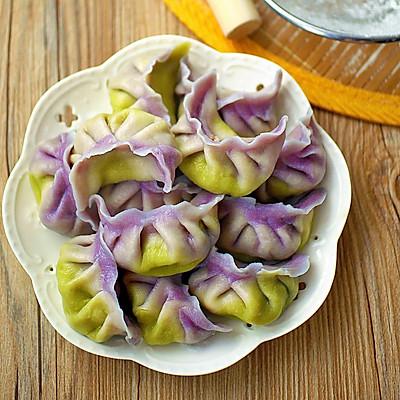 美貌与美味并存的郁金香饺子