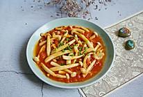 茄汁海鲜菇的做法