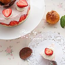 #豆果5周年#草莓慕斯蛋糕