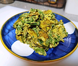 花椒芽儿煎蛋的做法