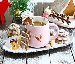 圣诞姜饼屋丨筑个小屋,下雪天一起过圣诞!的做法