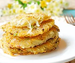 最好吃的土豆丝饼的做法