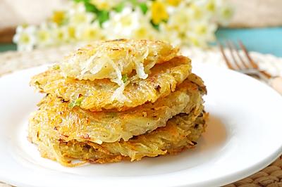 最好吃的土豆丝饼#胃,我养你啊#