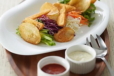美国马铃薯拌蔬菜