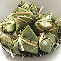 鲜肉鸭蛋黄粽子(内含红豆大枣口味)的做法图解26