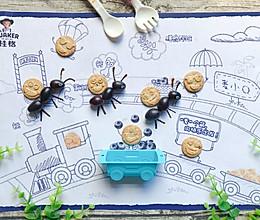 蚂蚁搬家儿童创意摆盘的做法