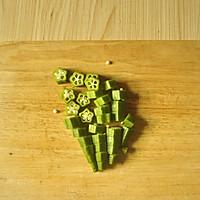 香辣金针菇拌秋葵#膳魔师川湘主题月#的做法图解2