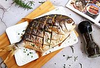 #一人一道拿手菜#烤金鲳鱼的做法