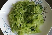 翡翠莴苣的做法