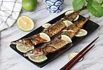 柠香秋刀鱼的做法