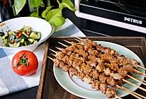 烤箱版烤羊肉串的做法