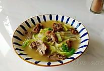 葱椒鸭肉白菜汤的做法