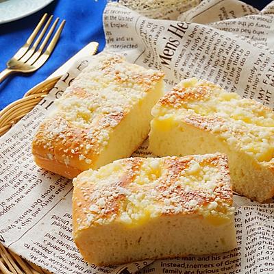 菠萝酥粒面包(无黄油)