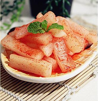 梦诛美食小时代 好吃的酸辣萝卜