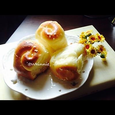 蜂蜜脆底小面包【韩国烤馒头~】