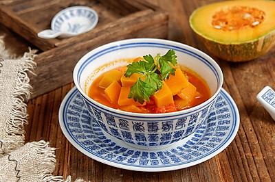 番茄南瓜汤