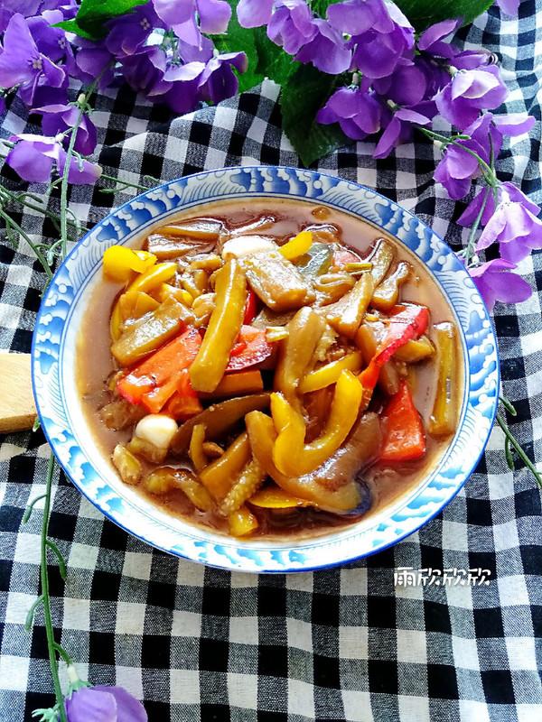 鱼香茄条的做法