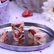 草莓雪花酥