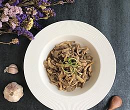 鲜肉炒蘑菇的做法