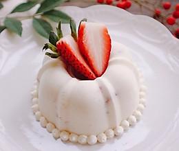 下午茶甜点-简易草莓慕斯的做法