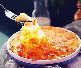 #精品菜谱挑战赛#焗芝士红薯泥的做法