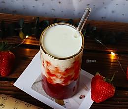 草莓鲜牛乳的做法