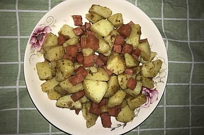 黑胡椒土豆