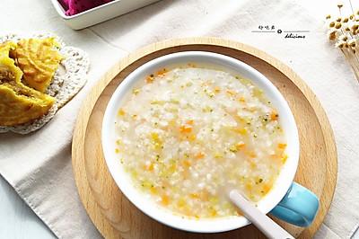 蔬菜糙米粥