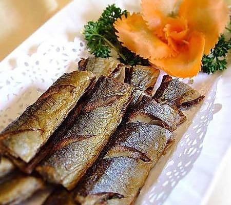 干煎秋刀鱼的做法