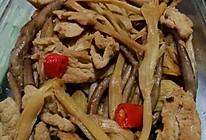 有啥吃啥系列之菌菇炒里脊肉片的做法