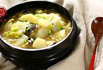 迷迭香:土豆茄子白菜煲的做法