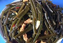 海带炒肉丝的做法